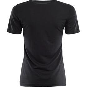 Aclima LightWool T-Shirt Women Jet Black